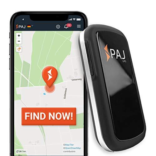 PAJ GPS Allround Finder GPS Tracker etwa 20 Tage Akkulaufzeit (bis zu 60 Tage im Standby Modus) Live-Ortung Peilsender für Auto, Personen