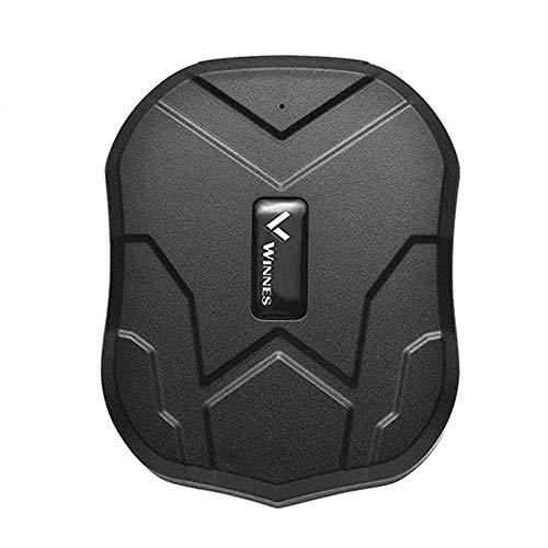 Winnes GPS Tracker Auto GPS Tracker mit Starker Magnet 3 Monate Sleep in Echtzeit GPS/GPRS/GSM Tracker Diebstahlsicherung für Fahrzeug Autos Motorrad LKW Tracker GPS Tracker Ortungsgerät