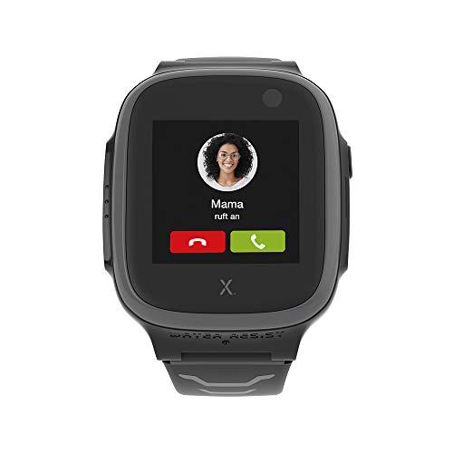Xplora X5 NanoSIM Smartwatch für Kinder (ohne SIM) 4G - Anrufe, Nachrichten, Schulmodus, SOS Funktion, GPS Location, Kamera, 2 Jahre Garantie (grau)