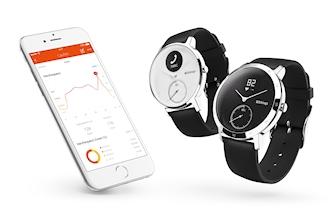 Die neue Withings Steel HR mit der Health Mate App