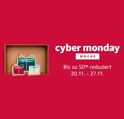 Cyber Monday Woche 2017 Amazon